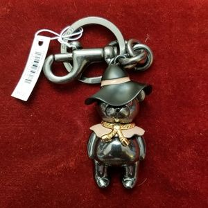COACH Wizard of Oz LE Scarecrow Key Chain NWT